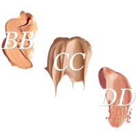 What is the difference between BB, CC and DD cream?