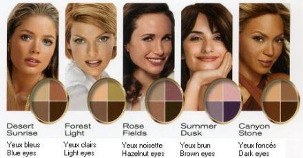 Maquillage des yeux bleus : Réussir le maquillage des yeux bleus  Femmezine